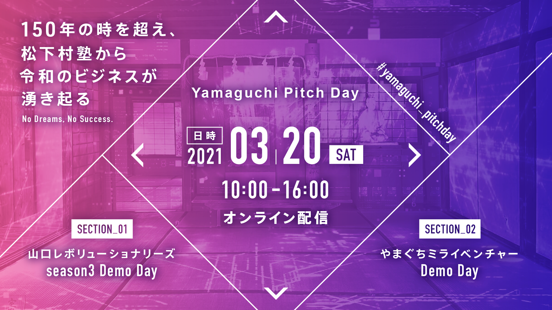 「Yamaguchi Pitch Day in松下村塾」の開催について